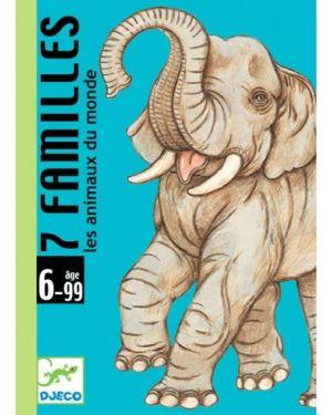DJECO - JEU DE CARTES - 7 familles animaux