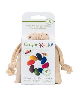 Poppik - Crayon de cire multicolore - Pack de 8