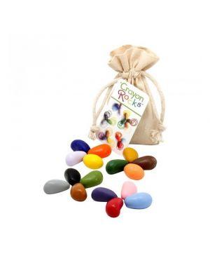 Poppik - Crayon Rocks multicolore - Pack de 16