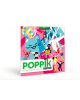 Poppik - Sticker Puzzles Funny Cats - Set of 3
