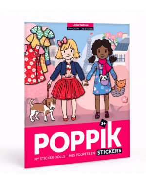 Poppik - Poster Stickers Girl Fashion
