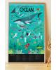 Poppik - Giant Poster Animals of Oceans