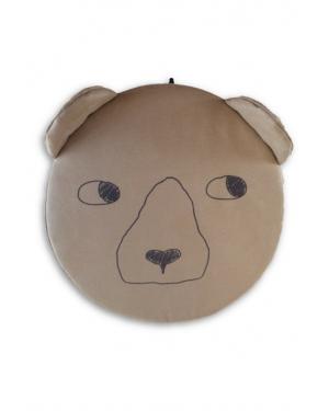 TeddySet- Booster Seat Brown - Bear