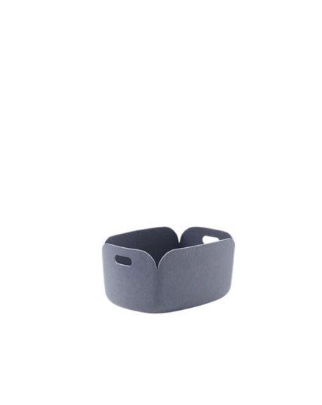 MUUTO RESTORE - Storage Basket - Blue Grey