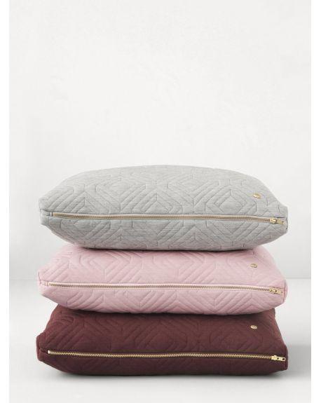 Ferm LIVING - Quilt Cushion - Rust
