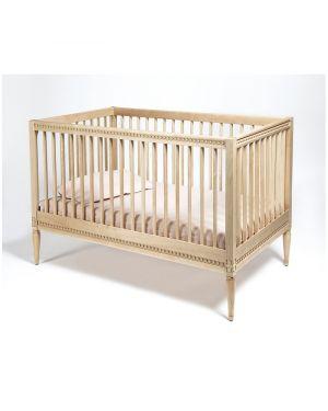 Gustavienne - Crib with mattress - Birch