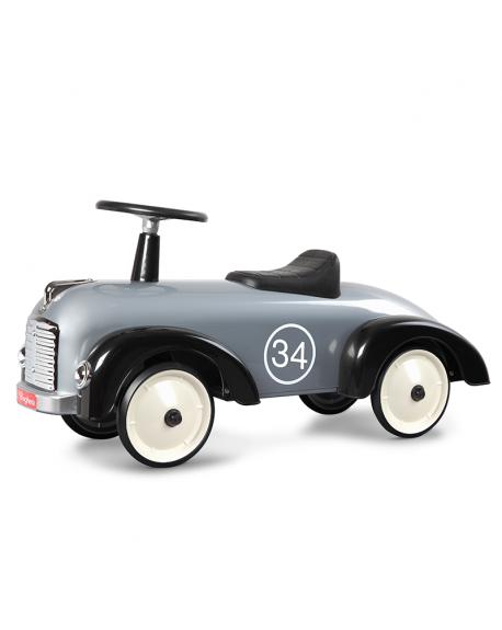 BAGHERA-Speedster Argent, porteur design De 1 à 3 ans