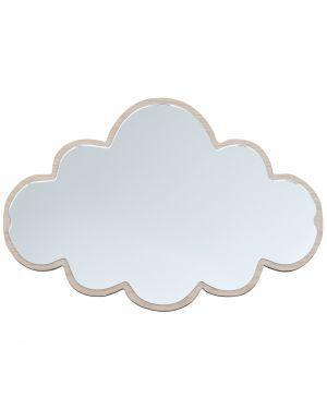 MaseLiving - Grand Miroir Nuage - Noyer
