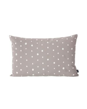 FERM LIVING - Dotted Cushion - Grey