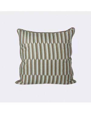 FERM LIVING - Arch Cushion - Blue/Brown