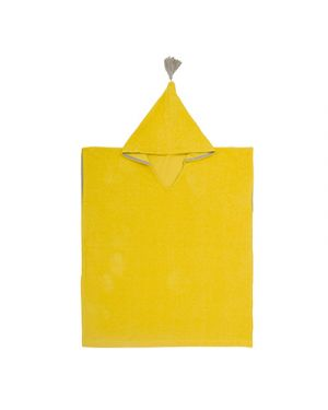 JACK N'A QU'UN OEIL - Poncho de bain CUZCO - Mimosa