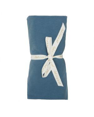 JACK N'A QU'UN OEIL - Drap housse ZIRKUSS - 70x140 cm - Blue Jeans