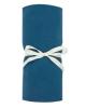 JACK N'A QU'UN OEIL - Fitted sheet ZIRKUSS - 70x140 cm - Blue velvet