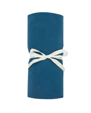 JACK N'A QU'UN OEIL - Drap housse ZIRKUSS - 70x140 cm - Blue velvet