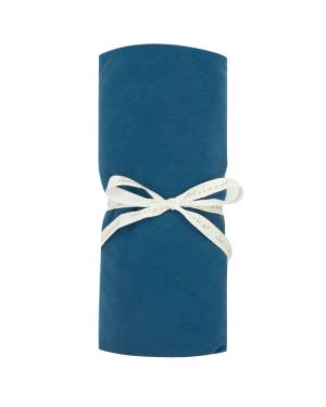 JACK N'A QU'UN OEIL - Drap Housse ZIA - 90x200 cm - Blue velvet