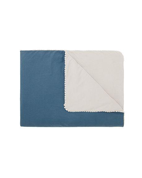 JACK N'A QU'UN OEIL - LICORNE Plaid - Blue jeans