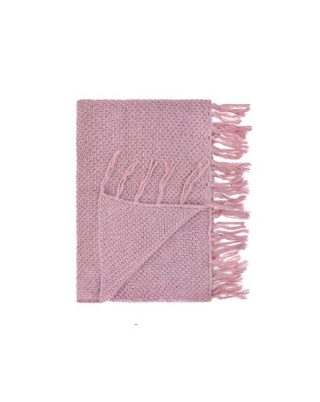 JACK N'A QU'UN OEIL - CANOPEE Plaid - Old Pink