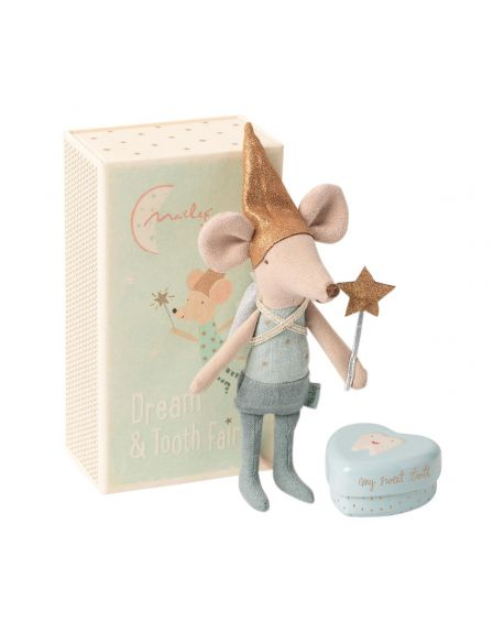 MAILEG - Mouse - Tooth fairy in a box - Boy