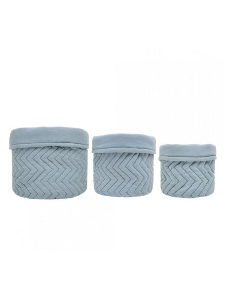 JACK N'A QU'UN OEIL - Assortiment de 3 paniers - Powder Blue