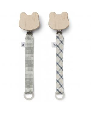 Liewood - Sia pacifier strap - Set of 2