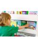Tidy Books - Bibliothèques fonctionnelle en bois - Multi-compartiments
