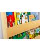 Tidy Books - Kids Wall Bookshelf Montessori - White