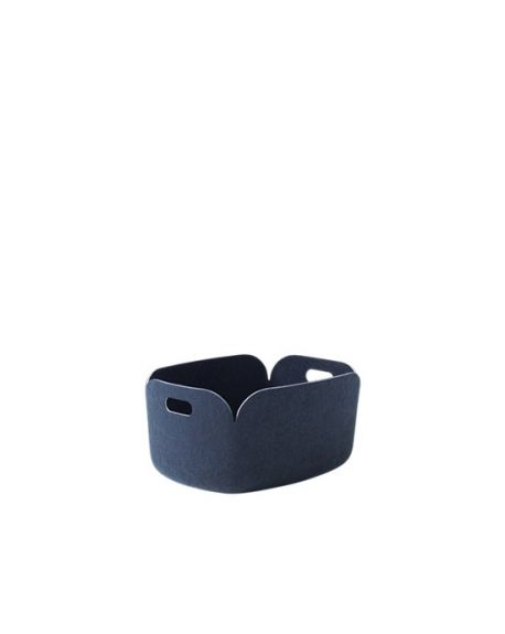 MUUTO RESTORE - Storage Basket - Night Blue