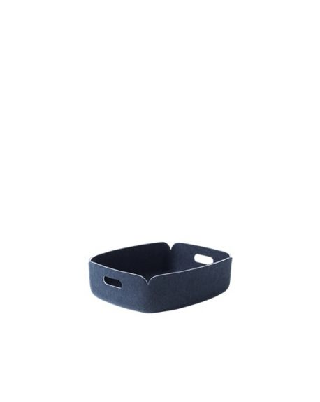 MUUTO RESTORE - Storage basket - Midnight Blue