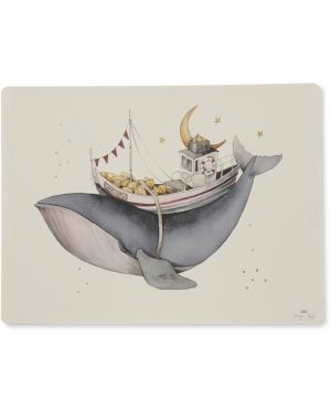 Konges Sløjd - Whale Placemat Silicone