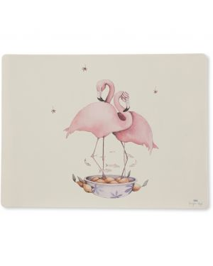 Konges Sløjd - Flamingo Placemat Silicone