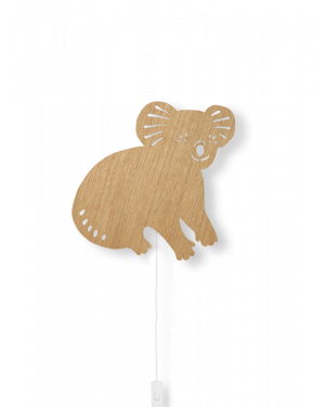 Ferm LIVING - Koala Lamp - Oiled Oak