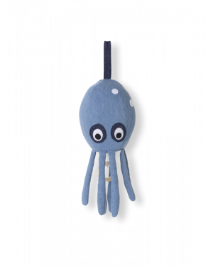 Ferm LIVING - Octopus Music Mobile - Denim