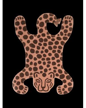 FERM LIVING - Tapis Safari Léopard