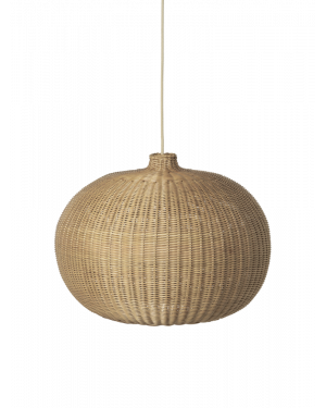 FERM LIVING - Suspension ronde en rotin