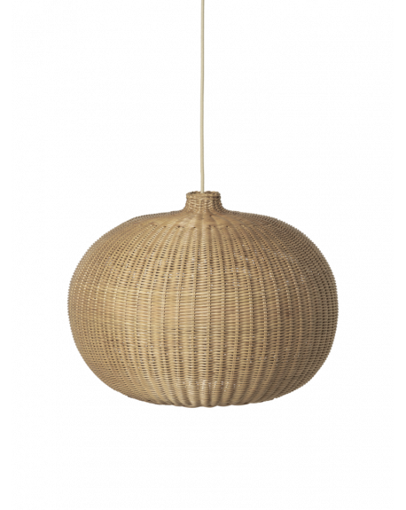 Ferm LIVING - Braided Belly Lamp Shade - Natural