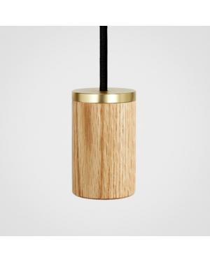Tala - Pendentif Ampoule en chêne