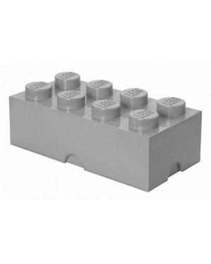 LEGO - BOITE DE RANGEMENT - 8 plots - Gris