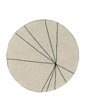 LORENA CANALS - TAPIS Rond Trace Beige - Ø160