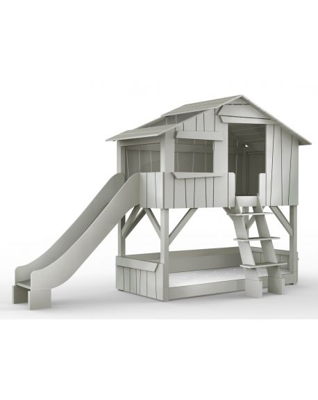 MATHY BY BOLS - Tree House bunk bed - MDF & Pin - Lacquer (27 colors)