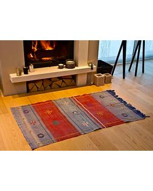 JADES HERITAGE - SABRA - Tapis Berbère SIFA CIEL TERRE - 150 x 90 cm