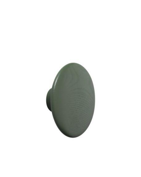 MUUTO - THE DOTS - Patère Medium - Dusty Green
