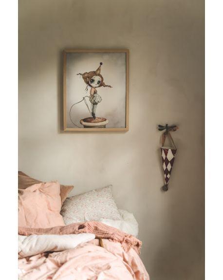 "MRS MIGHETTO - ""Miss Gertrud"" Art Print - FAIRGROUND FRIENDS - 40 x 50 cm"