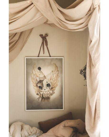 MRS. MIGHETTO - Affiche Mr Bill - Edition Limitée FAIRGROUND FRIENDS - 50 x 70 cm