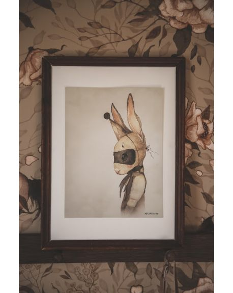 "MRS. MIGHETTO - Mr ""Sixten"" - limited edition FAIRGROUND FRIENDS - 18 x 24 cm"