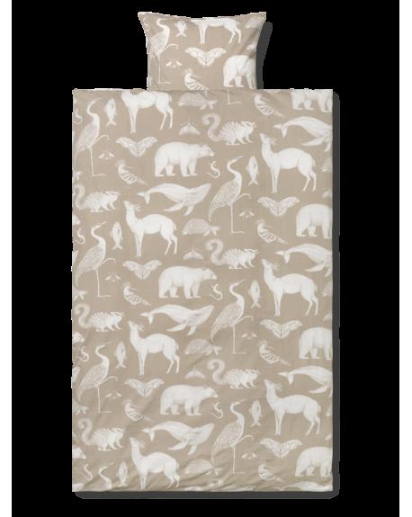 FERM LIVING - Katie Scott Duvet and pillow cover 100x140