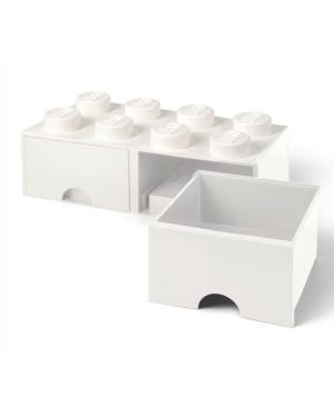 LEGO - STORAGE BOX - 8 studs - White