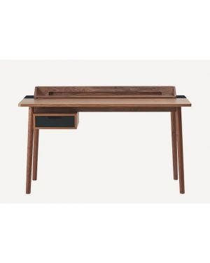 Harto - Honoré walnut desk - Slate grey mat finishings