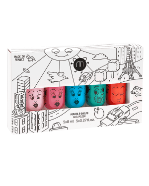 Nailmatic - Coffret 5 vernis - City
