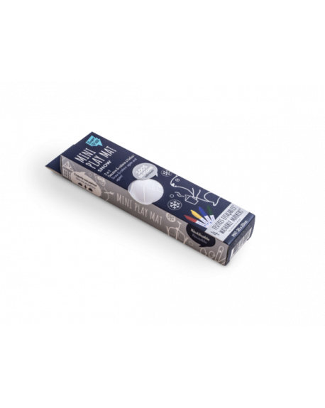"""SUPER PETIT - Mini Playmat """"Snow réversible"""""""