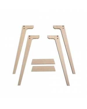 Oliver Furniture - Pied de bureau Wood - 66 cm